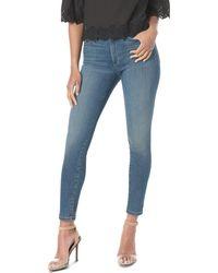 Joe's Jeans The Hi Honey Ankle Skinny Jeans In Nessa - Blue
