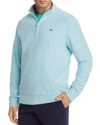 Vineyard Vines - Reverse Oxford Pique Quarter-zip Pullover - Lyst