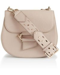 Reiss - Maltby Leather Crossbody - Lyst