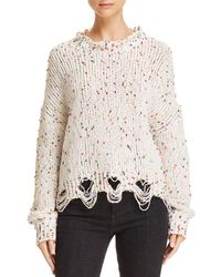 Honey Punch - Dotted Chenille Jumper - Lyst