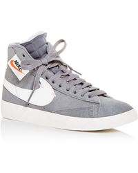 265501f40832 Lyst - Nike Sneakers Lace Up High Top Sneakers Womens Blazer Mid ...
