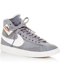 35fac790f07c ... Black Silt Red (w).  120. StockX · Nike - Women s Blazer Mid Rebel Mid-top  Sneakers - Lyst