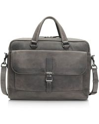 Frye - Oliver Double-handle Leather Briefcase - Lyst