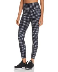 Aqua - Athletic Polka Dot Leggings - Lyst