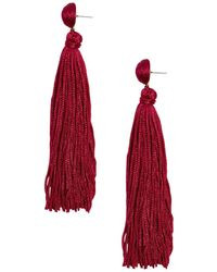 BaubleBar - Valencia Tassel Earrings - Lyst