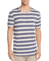 Joe's Jeans - Engineered Striped Crewneck Tee - Lyst