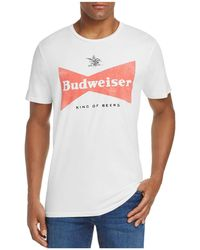Junk Food - Budweiser King Of Beers Logo Tee - Lyst