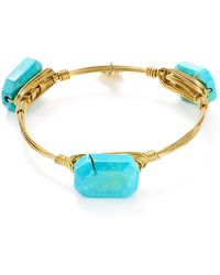 Bourbon and Boweties - Magnesite Bangle - Lyst