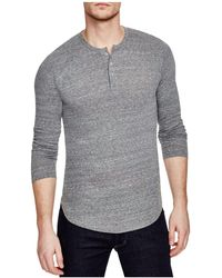 Goodlife - Long Sleeve Henley - Lyst