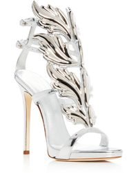 Giuseppe Zanotti - Women s Coline Cruel Patent Leather Wing Embellished  High-heel Sandals - Lyst 3e4bd1488