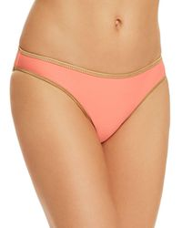 Sam Edelman - Pop Solids Reversible Triangle Bikini Top - Lyst