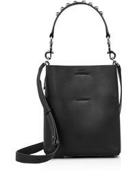 AllSaints - Suzi Mini Leather Satchel - Lyst