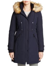 Vince Camuto - Active Long Puffer Coat - Lyst