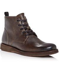 John Varvatos - Men's Leather Boots - Lyst