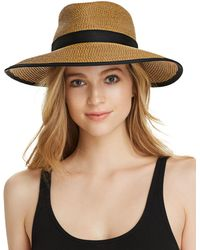 Eric Javits - Sun Crest Packable Hat - Lyst