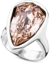 Uno De 50 - Strut Crystal Statement Ring - Lyst