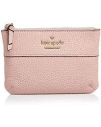 Kate Spade - Jackson Street Mila Leather Pouch - Lyst
