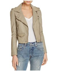Linea Pelle - Axel Washed Leather Jacket - Lyst