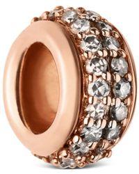 Links of London - Sterling Silver Sweetie Pavé Diamond Bead - Lyst