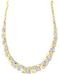 Bloomingdale's - Diamond Pebble Necklace In 14k Yellow Gold, 1.70 Ct. T.w. - Lyst