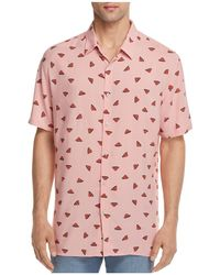 Barney Cools - Watermelon Regular Fit Button-down Shirt - Lyst