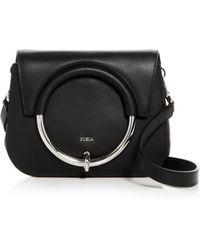 Furla - Margherita Mini Leather Convertible Crossbody - Lyst
