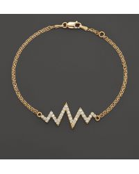 Khai Khai - Diamond Mini Shockwave Bracelet In 18k Yellow Gold, .5 Ct. T.w. - Lyst