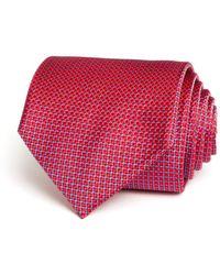 Bloomingdale's - Micro Harlequin Classic Tie - Lyst
