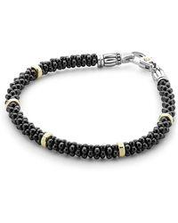 Lagos - 18k Gold Beaded Bracelet - Lyst