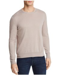 Bloomingdale's - Cotton Blend Crewneck Sweater - Lyst