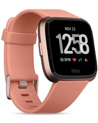 Fitbit - Versatm Peach Band Touchscreen Smart Watch 39mm - Lyst