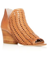 Donald J Pliner - Women's Jacqi Woven Leather Wedge Heel Sandals - Lyst