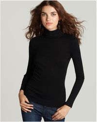 Splendid - 1x1 Turtleneck Top - Lyst