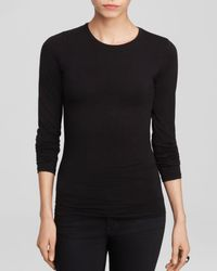 Majestic Filatures - Majestic Long Sleeve Crew Neck Tee - Lyst