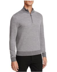Brooks Brothers - Birdseye Half-zip Sweater - Lyst