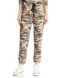 Honey Punch - Studded Camo Jogger Pants - Lyst