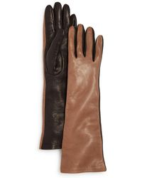 Bloomingdale's - Leather Glove With Silk Lining - Lyst