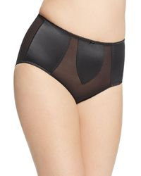 Dita Von Teese - Plus Sheer Witchery Satin Control Briefs - Lyst