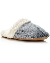 Natori - Sherpa Slippers - Lyst