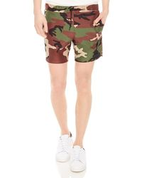 Sandro - Camo Swim Trunks - Lyst