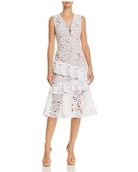 Bronx and Banco - Donna Lace Dress - Lyst