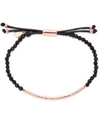 Gorjana - Rose Gold - Tone Beaded Bracelet - Lyst
