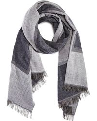 Bloomingdale's - Color-block Scarf - Lyst