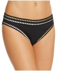 La Blanca - Threading Along Hipster Bikini Bottom - Lyst