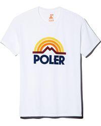 Poler - Mountain Rainbow Graphic Tee - Lyst
