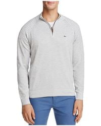Vineyard Vines - Classic Stripe Quarter-zip Jumper - Lyst