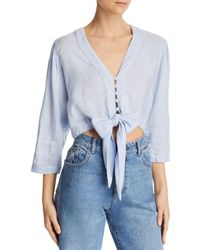 DL1961 - Irving Place Tie-front Top - Lyst