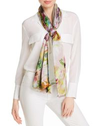 Echo Digital Floral Scarf - Multicolour
