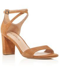 Via Spiga - Wendi Crisscross Ankle Strap High Heel Sandals - Lyst