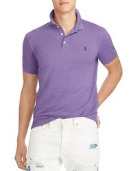 Polo Ralph Lauren - Polo Stretch Mesh Classic Fit Polo Shirt - Lyst